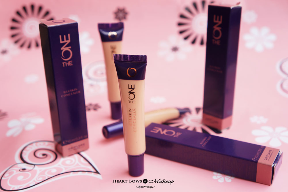 Oriflame The One Concealer Review, Swatches & Price India