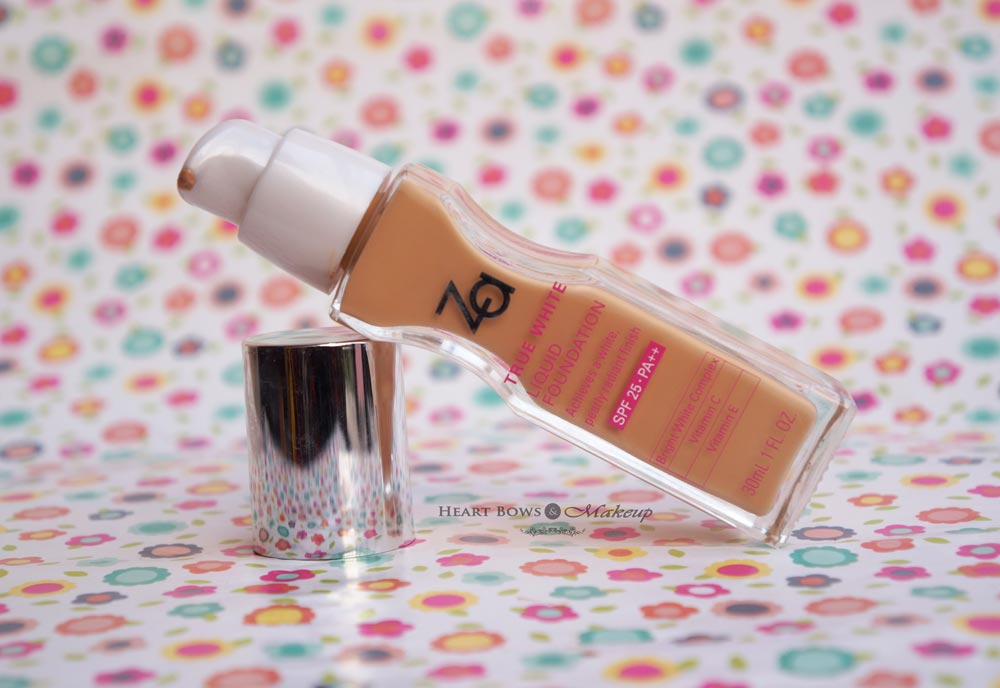 ZA True White Liquid Foundation OC 30 Review: Best Affordable Foundation For Dry Skin in India