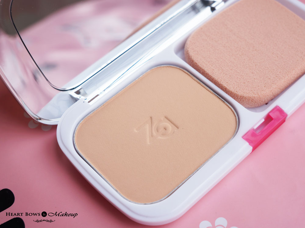 ZA Powder Foundation 21 Review & Swatches