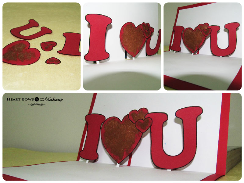 Cute Valentines Day Gifts DIY: Handmade Romantic Card