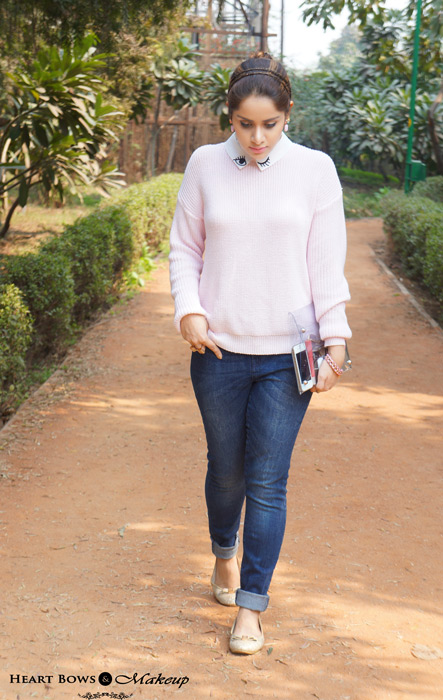 Indian Fashion Blogger: Valentine's Day Casual OOTD