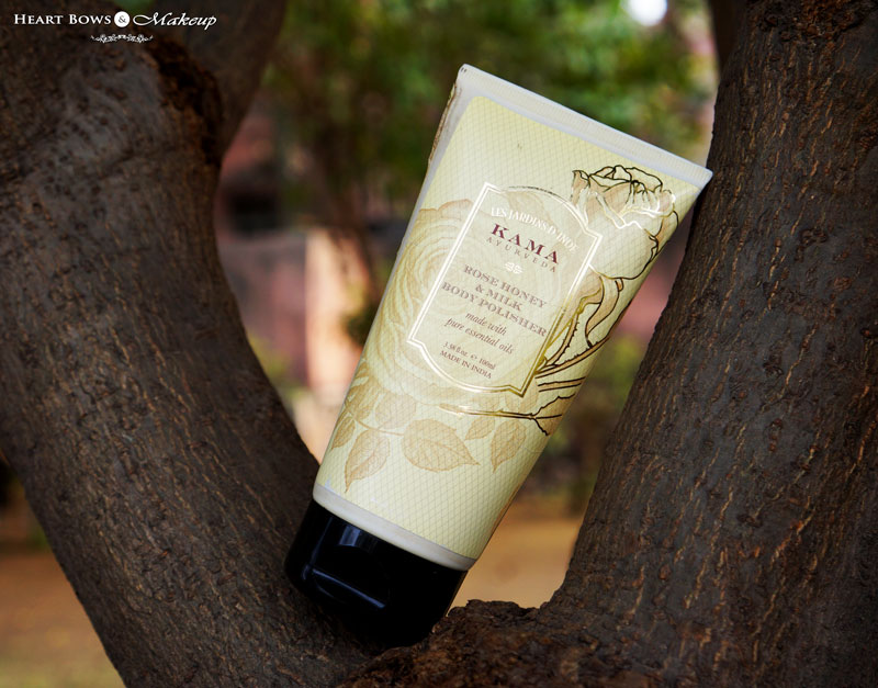 Kama Ayurveda Rose Honey & Milk Body Polisher Review, Price & Buy Online India