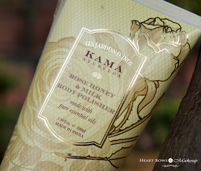 Kama Ayurveda Rose Honey & Milk Polisher Review Price Buy India