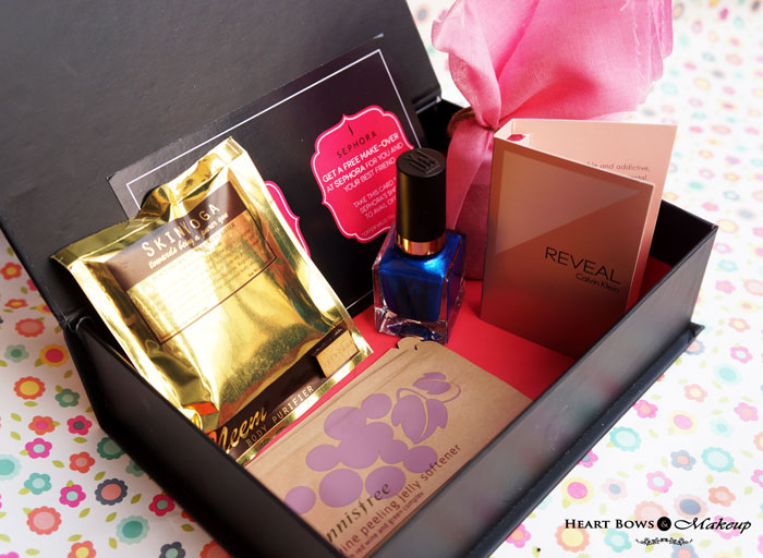 My Envy Box February  Valentines Day Special Products, Review & Buy Online India