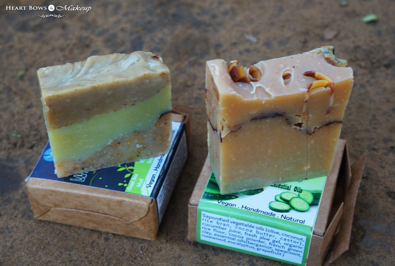 Natural Vegan & Handmade Soaps in India: Burst of Happyness