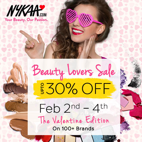 Nykaa Valentines Day Sale, Offers & Discounts