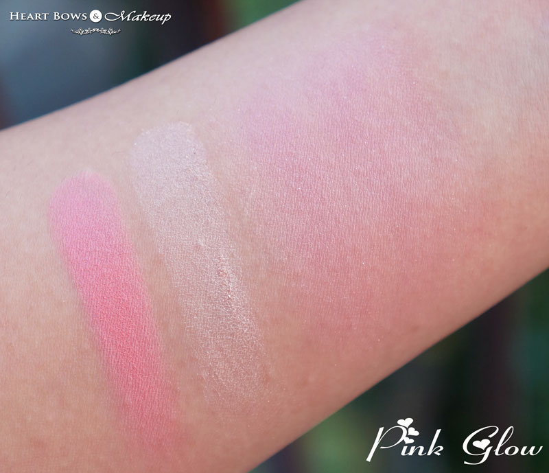 Oriflame The ONE Illuskin Blush Pink Glow Swatches & Review