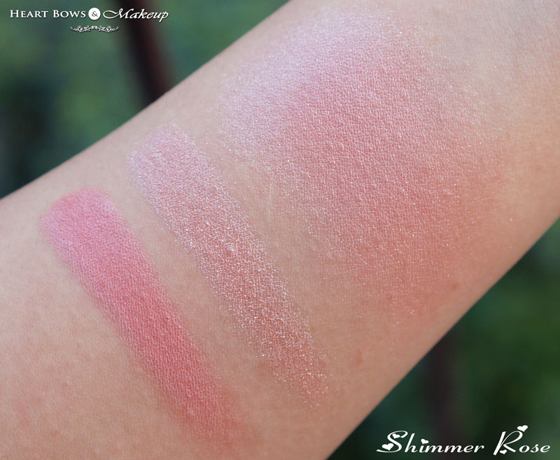Oriflame The ONE Illuskin Blush Shimmer Rose Review & Swatches