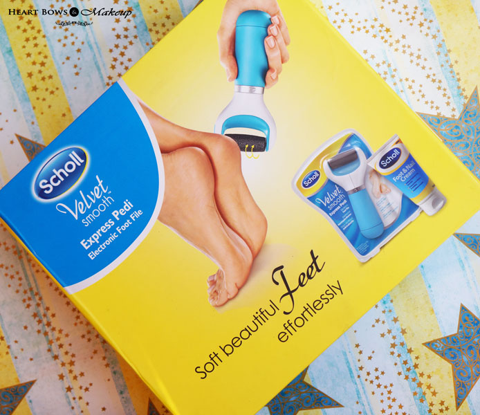 Scholl Velvet Smooth Express Pedi Electronic Foot File Review, Price & Buy India