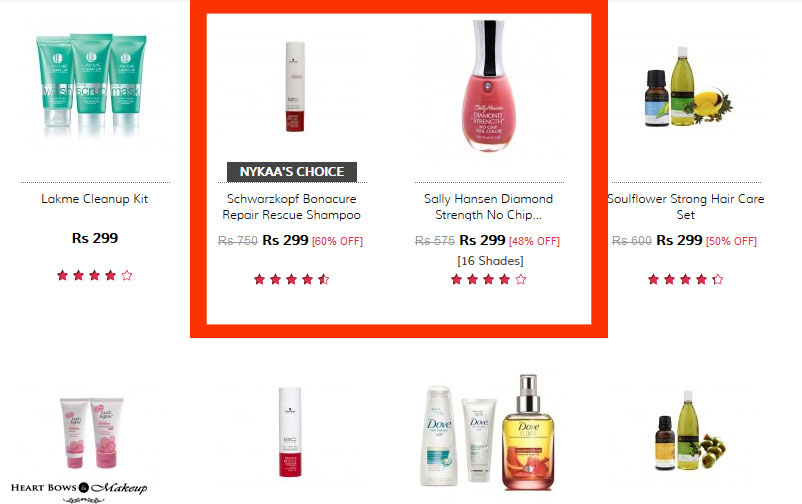 Valentines Day Sales & Discounts at Nykaa
