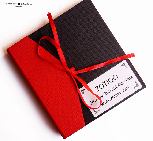Zotiqq Jewellery Subscription Box February Review, Products & Price