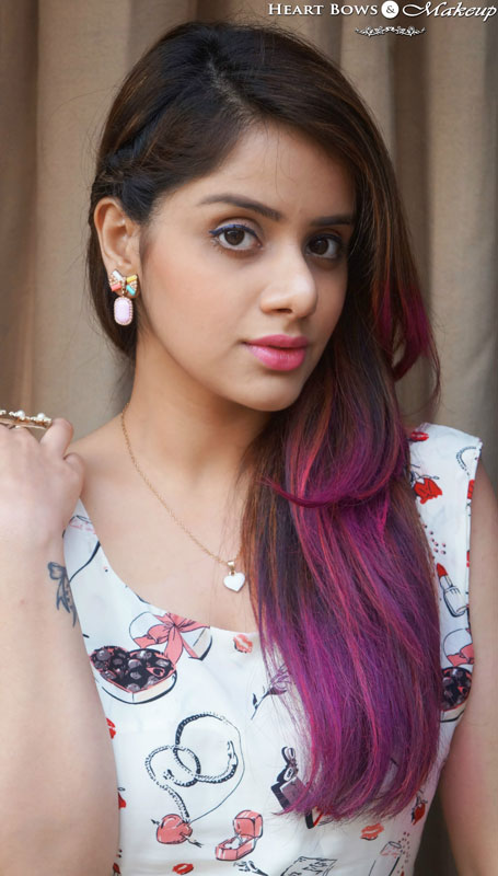 Easy Summer Makeup Tutorial & Trends + Pink Ombre Hair