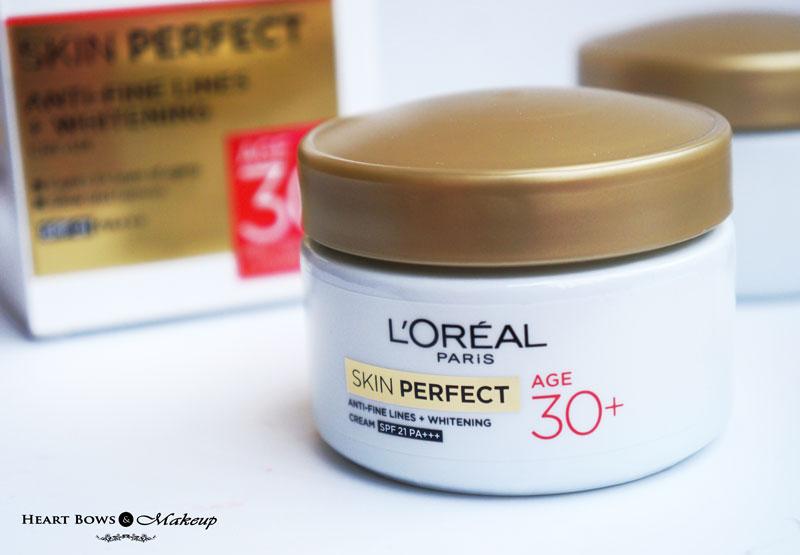 L'Oreal Paris Skin Perfect Age 30+ Cream Review, Price & Buy India