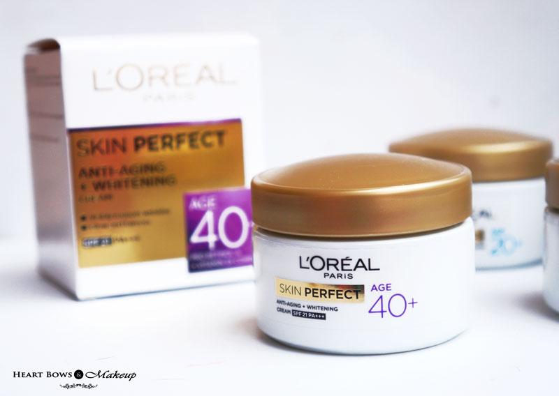L'Oreal Paris Skin Perfect Age 40+ Cream Review, Price & Buy India