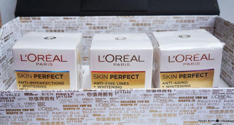 L'Oreal Paris Skin Perfect Range in India