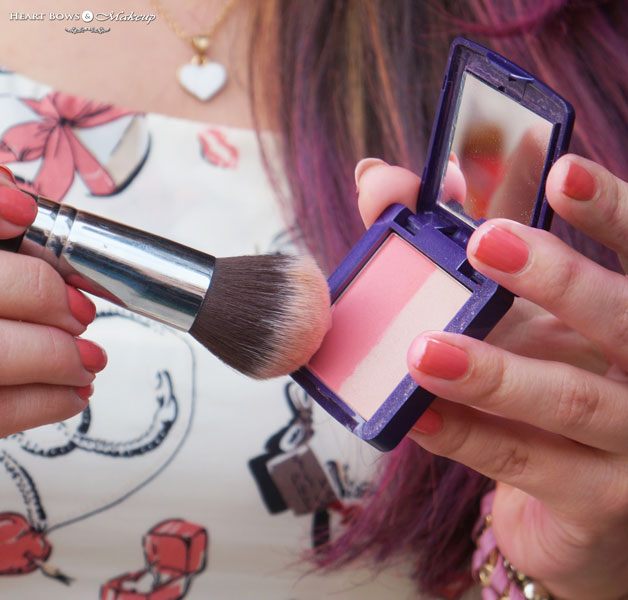 Oriflame The ONE Illuskin Blush Pink Glow Swatches Review