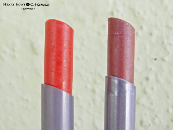 Oriflame The ONE Lipstick Endless Red & Mocha Intensity Review