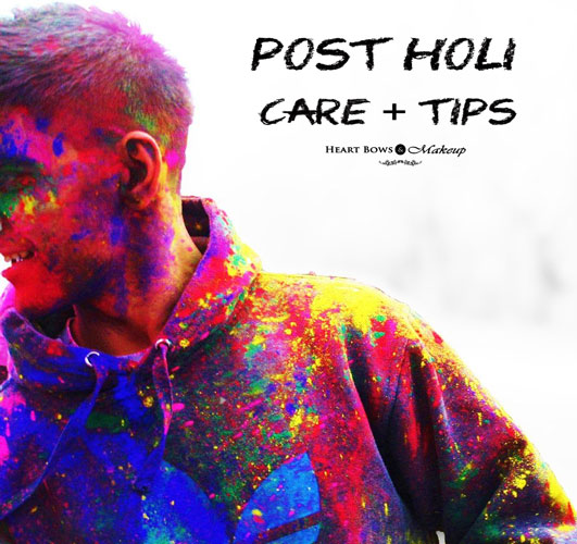 Post After Holi Skincare Tips: How To Get Rid Of Holi Colours From The Skin