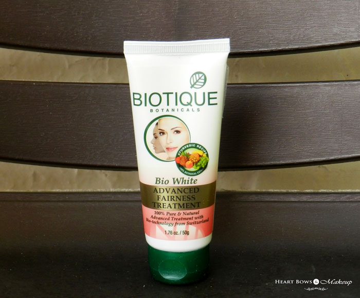Biotique Advanced Fairness Treatment Review, Price & Buy India
