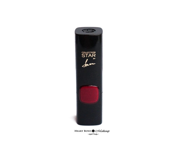 L'Oreal Paris Collection Star Red Sonam Kapoor's Pure Garnet Lipstick Review & Swatches