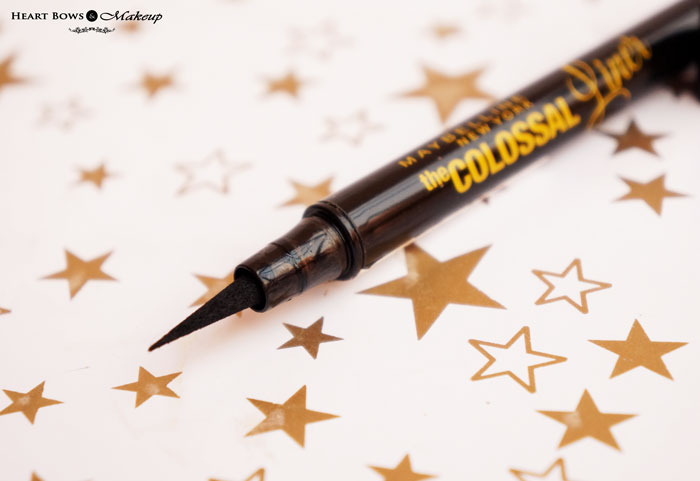 Maybelline The Colossal Black Eye Liner Review