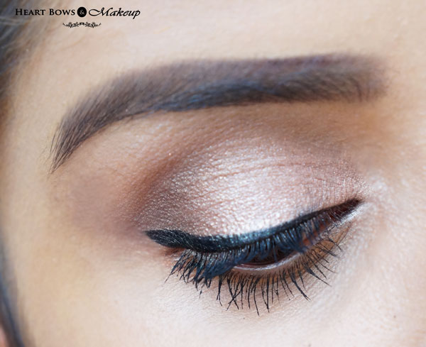 Maybelline The Colossal Liner Swatches, EOTD & Review: Best Black Eyeliner India
