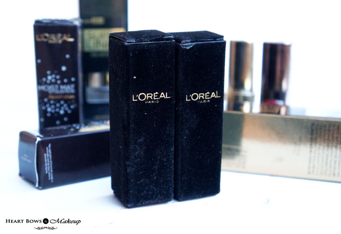 L'Oreal Cannes Makeup Collection: L'oreal Paris Moist Matte Limited Edition Swarovski Lipstick Shades, Swatches & Price India