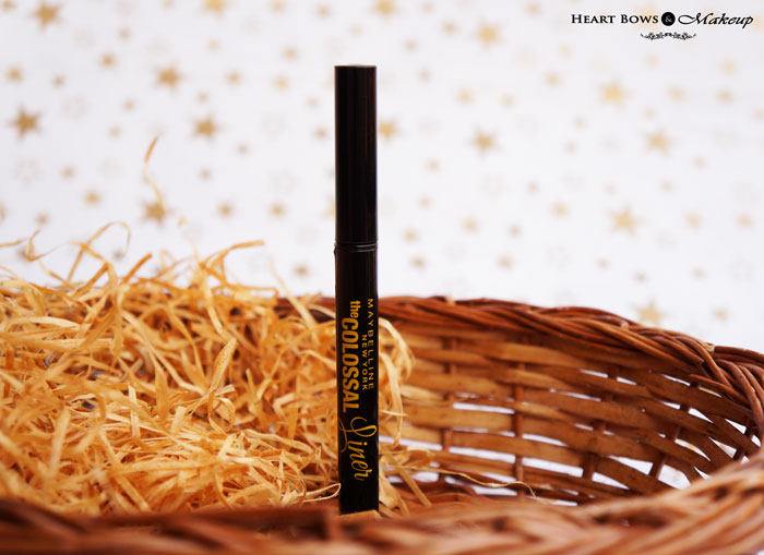 New Maybelline Colossal Pen Eyeliner Review & Swatches