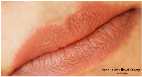 Oriflame The ONE Lipstick Desert Sand Lip Swatches & Review