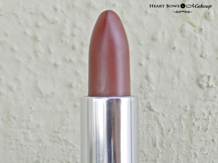 Oriflame The ONE Lipstick Desert Sand Review & Swatches
