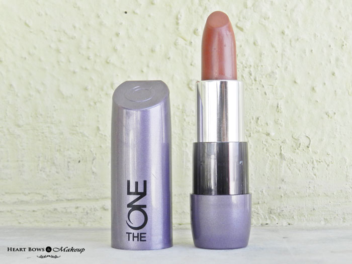 Oriflame The ONE Matte Lipstick Desert Sand Review, Swatches, Price & Buy Online India