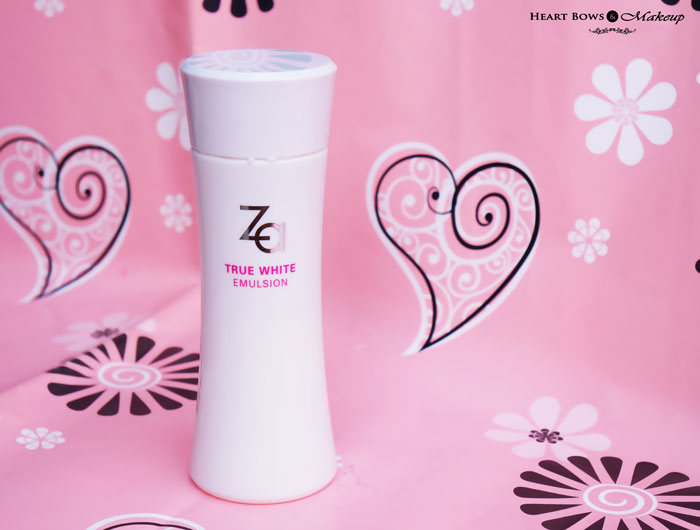 ZA True White Emulsion Review, Price & Buy Online India