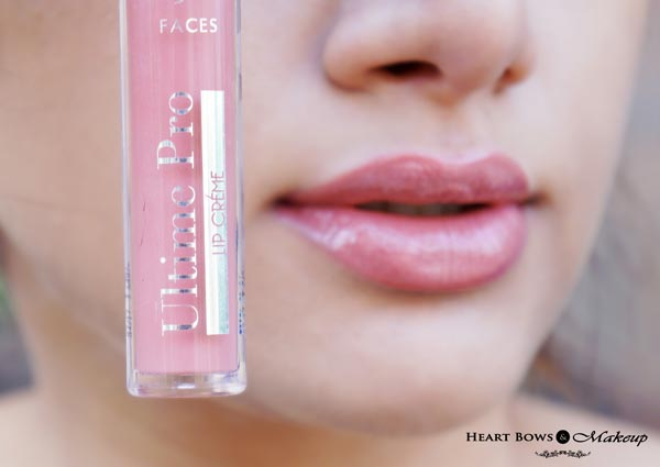 Faces Nude Mojito Lipgloss Swatches & Review