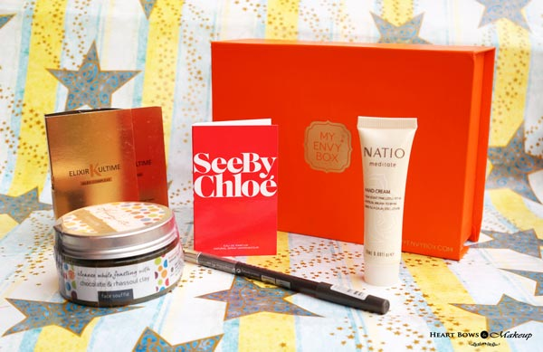 June 2015 My Envy Box Products, Samples & Review