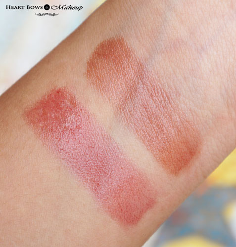 Maybelline Baby Lips Spiced Up Berry Sherbet & Spicy Cinnamon Lip Balm Swatches & Review