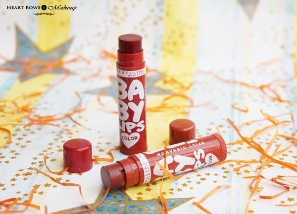 Maybelline Spiced Up Lip Balms