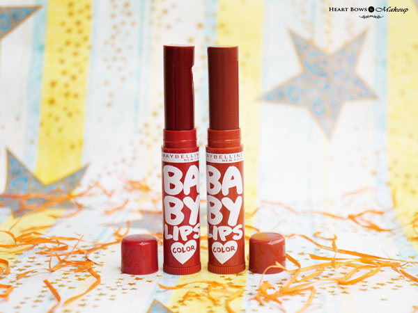 New Maybelline Baby Lips Spiced Up Lip Balms Review & Price India