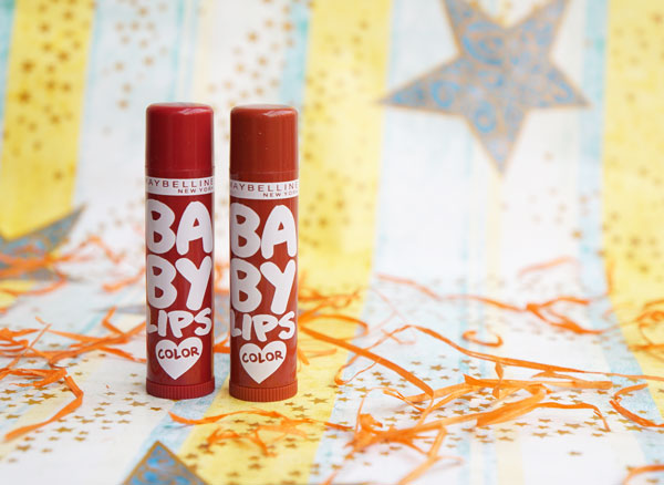Maybelline Spiced Up Baby Lips Berry Sherbet & Spicy Cinnamon Lip Balm Review & Buy Online India