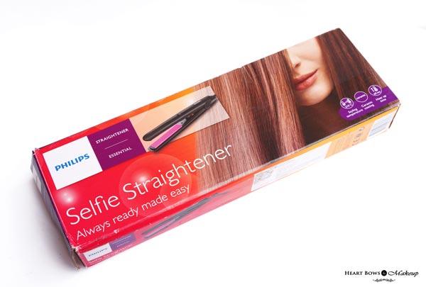 Philips Selfie Hair Straightener Review, Price & Buy Online India
