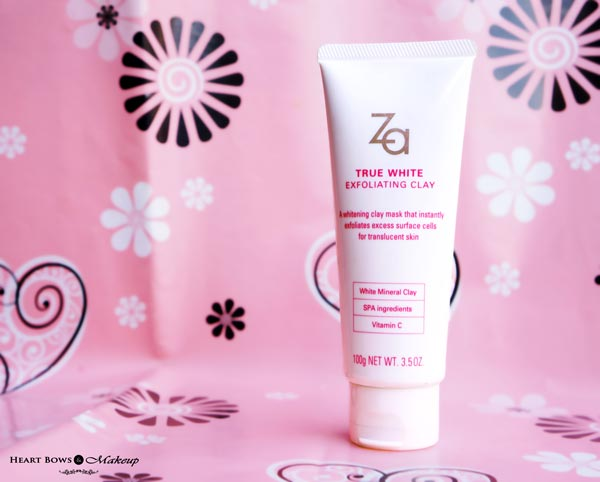ZA True White Exfoliating Clay Mask + Scrub Review, Price & Buy Online India