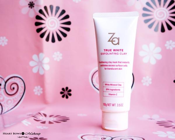 ZA True White Exfoliating Clay Mask + Scrub Review, Price & Buy Online India