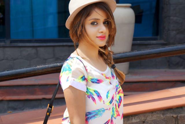 Best Indian Fashion Beauty Blog Winged Eyeliner & Pink Lips