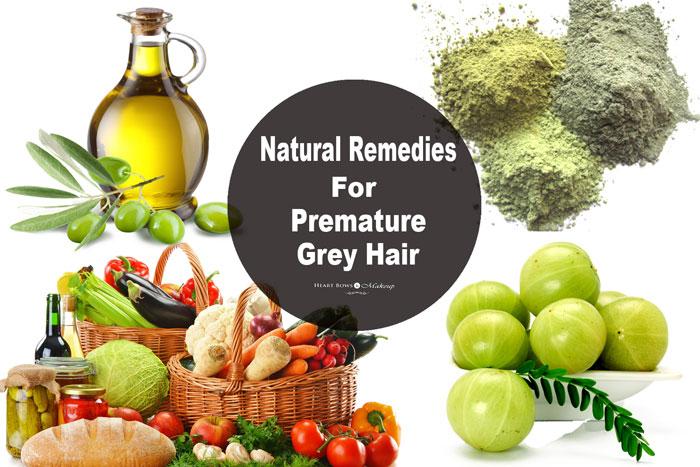 Reduce Premature Grey Hair Naturally