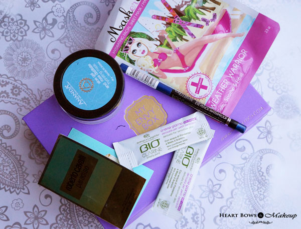 July 2015 My Envy Box Products, Review & Price