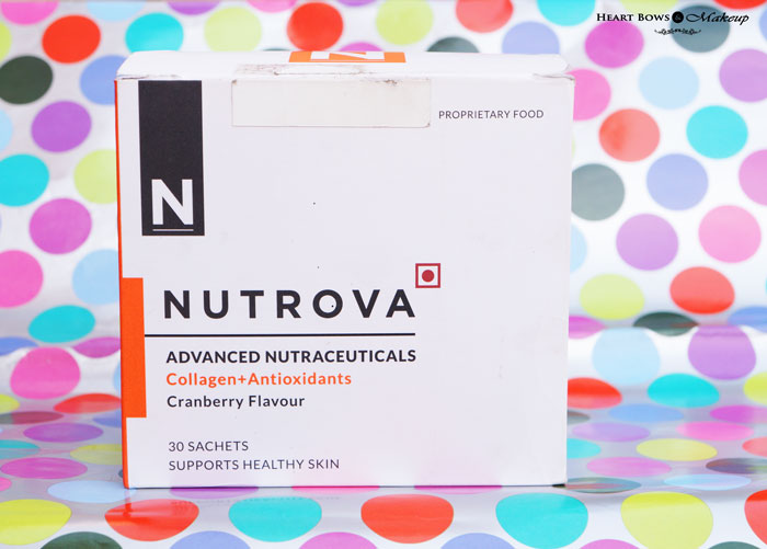 Best Anti Aging Supplement: Nutrova Advanced Nutraceuticals Collagen + Antioxidants Review, Price Buy Online India