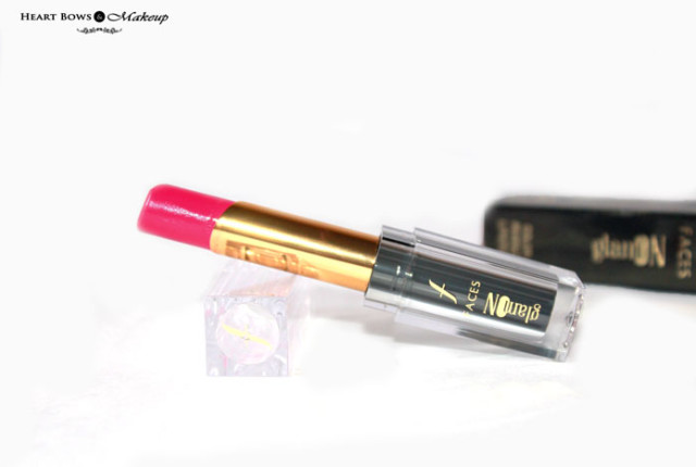 Faces Glam On Color Perfect Lipstick Pink About Me Review Price