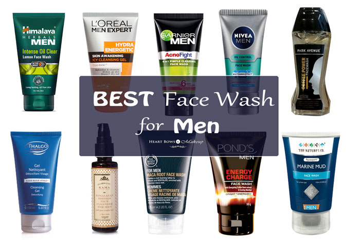 Best Face Wash For Men In India Our Top 10 Heart Bows
