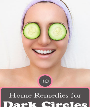 Natural Home Remedies For Dark Circles