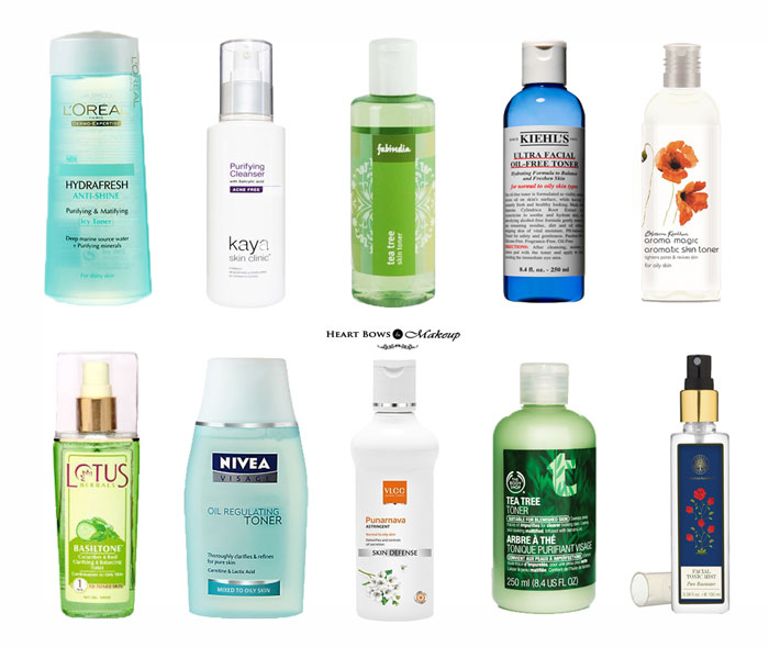 Best Toner For Oily Amp Acne Prone Skin In India Our Top 10
