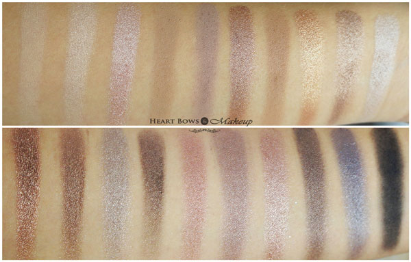 Coastal Scents Revealed Palette Swatches Review